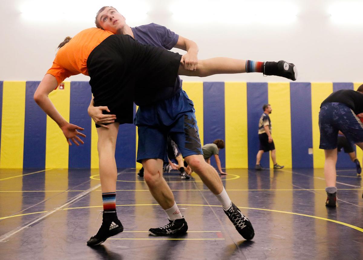 CHS Wrestling Practice