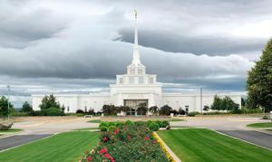 Many excited to see LDS Temple