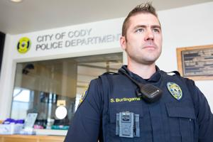 Cody police add body cameras as helpful tool