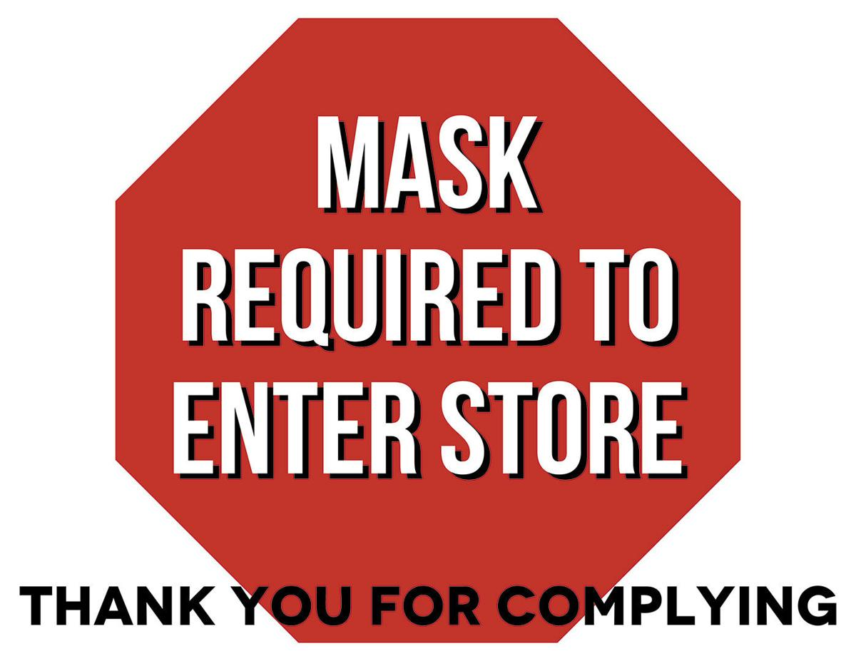 Mask required store 2
