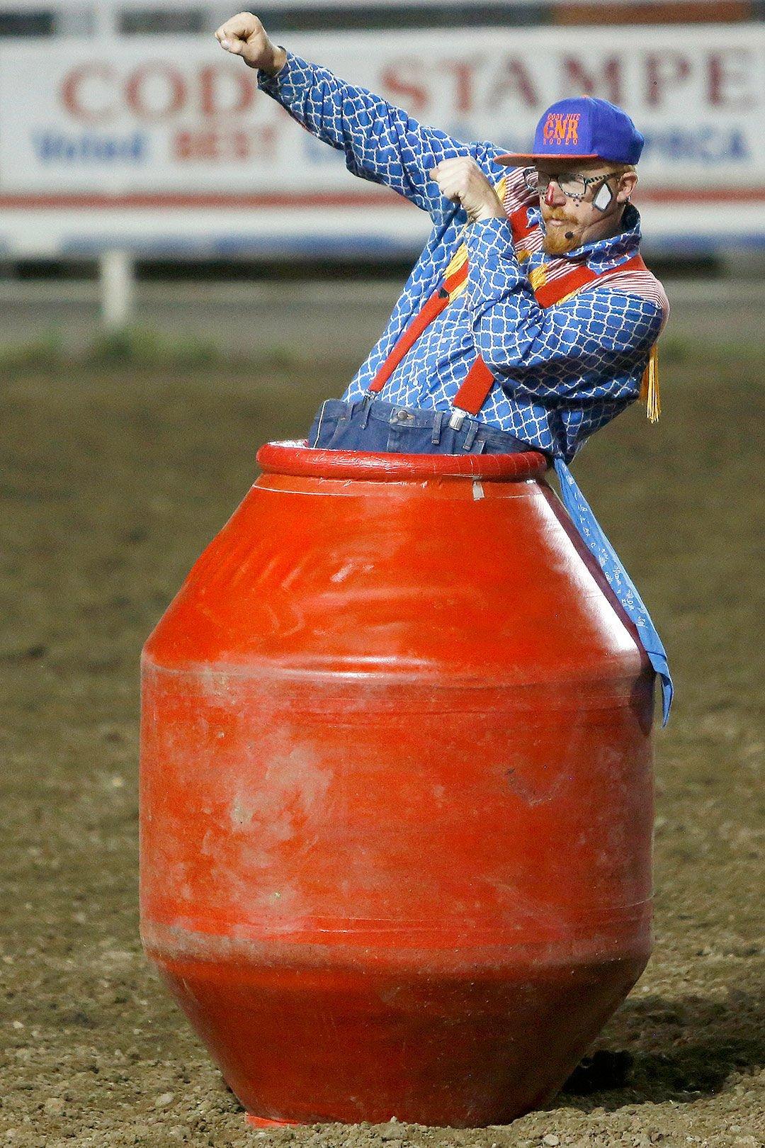 Life Of Rodeo Clown Is No Joke Sports Codyenterprise Com