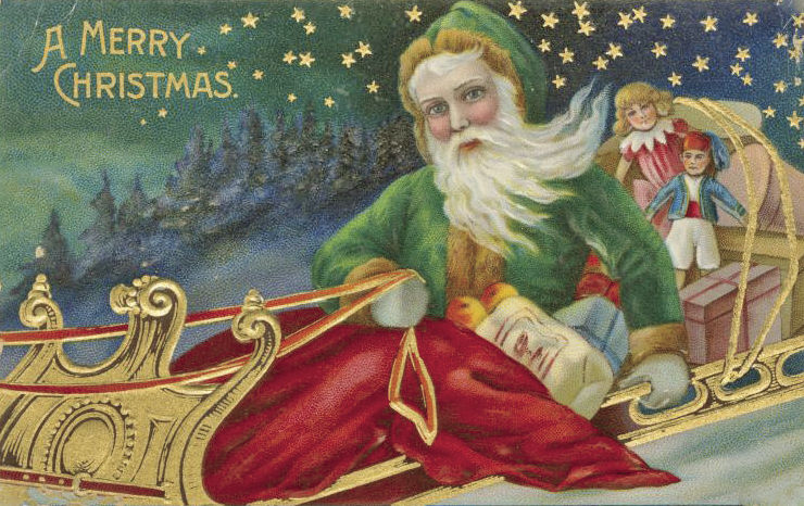 Image #3 embossed santa postcard green suit (1).jpg