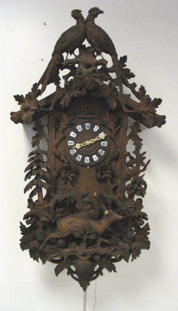 Antique Walnut Cuckoo Clock.jpg