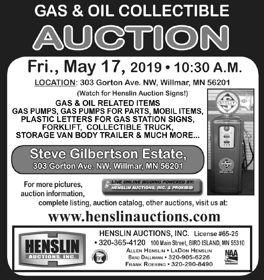 Gas & oil collectables