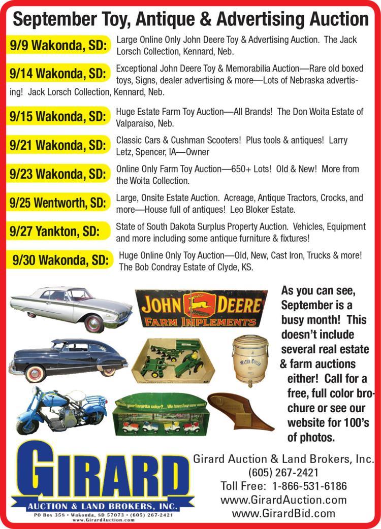John Deere Toy memoribilia, signs