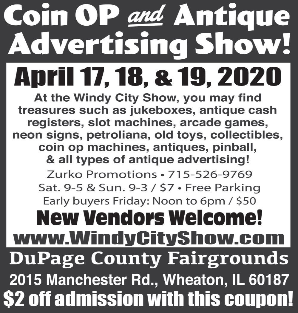 Coin OP and Antique Advertising Show