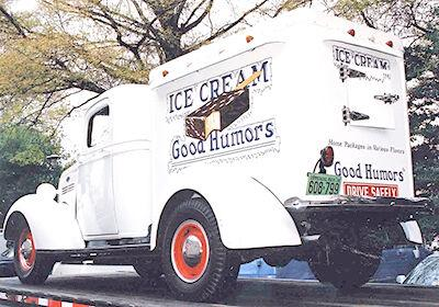 Ice cream collectibles appropriate for hot August days!