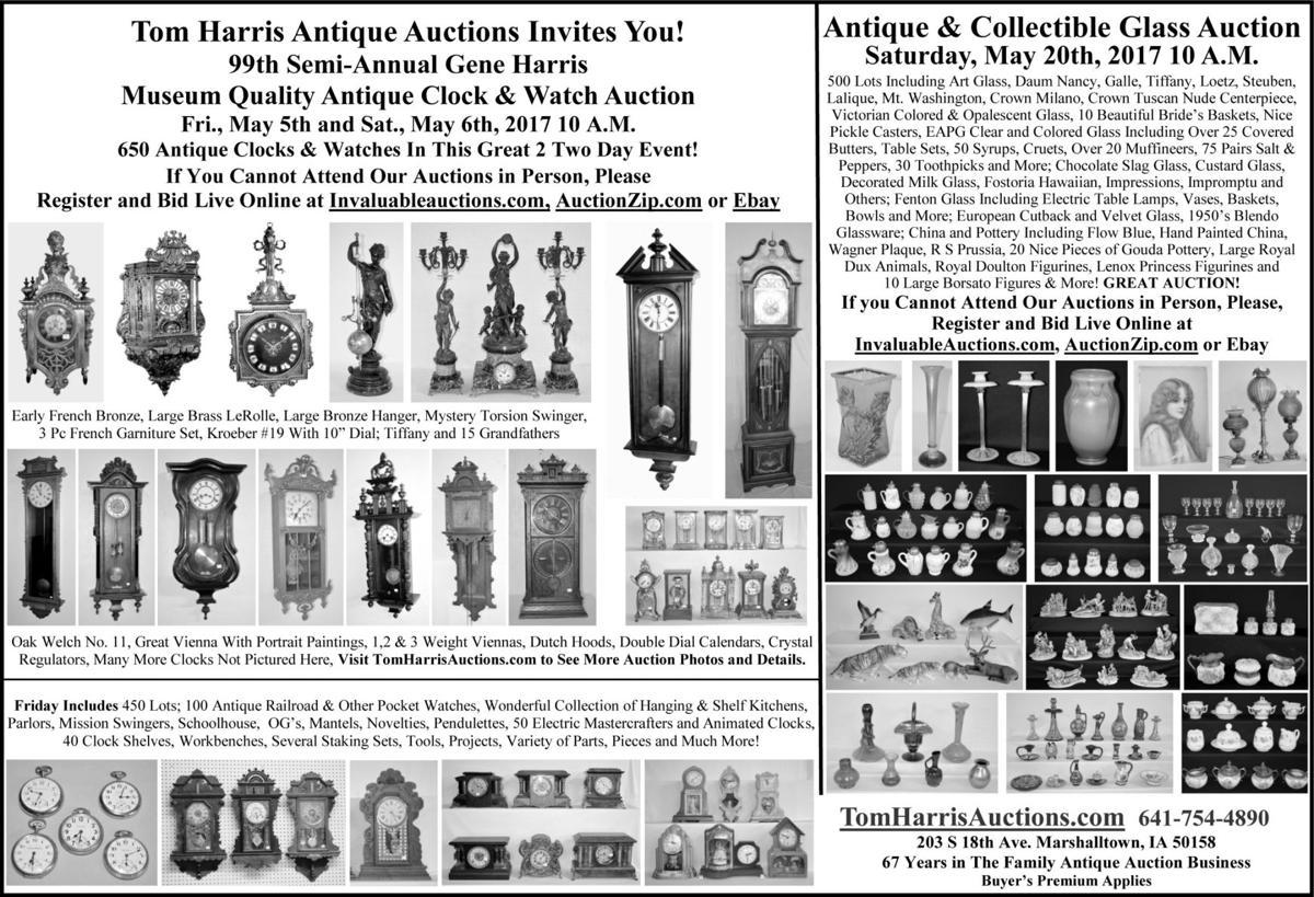 Antique Clock And Watch Auction Auctions Markets Shows Collectorsjournal Com