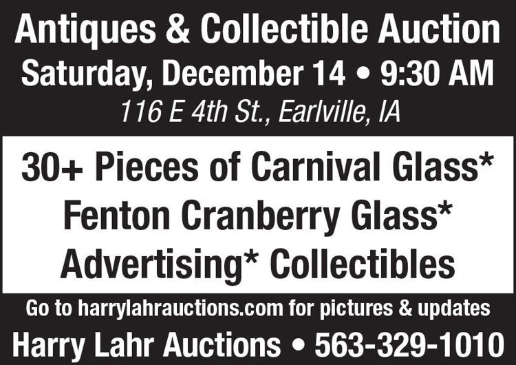 Carnival glass, Fenton Glass, Advertising, Collectibles