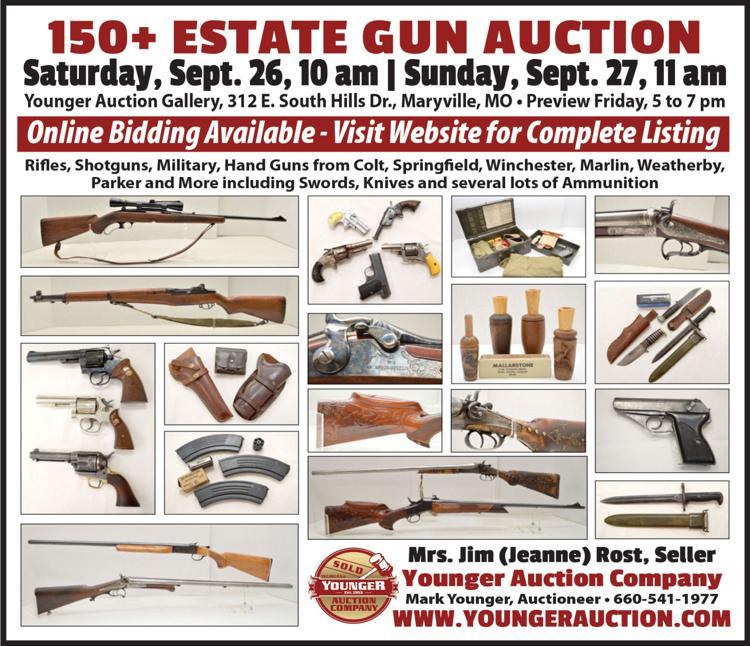 Rifles, Shotguns, Handguns, Ammo and more