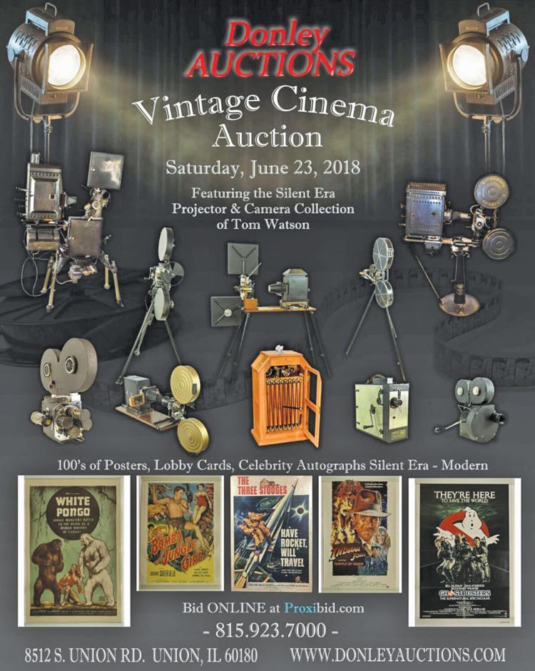 Vintage cinema auction | Auctions, Markets & Shows