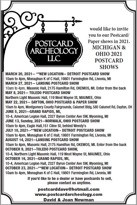 Postcard Archeology