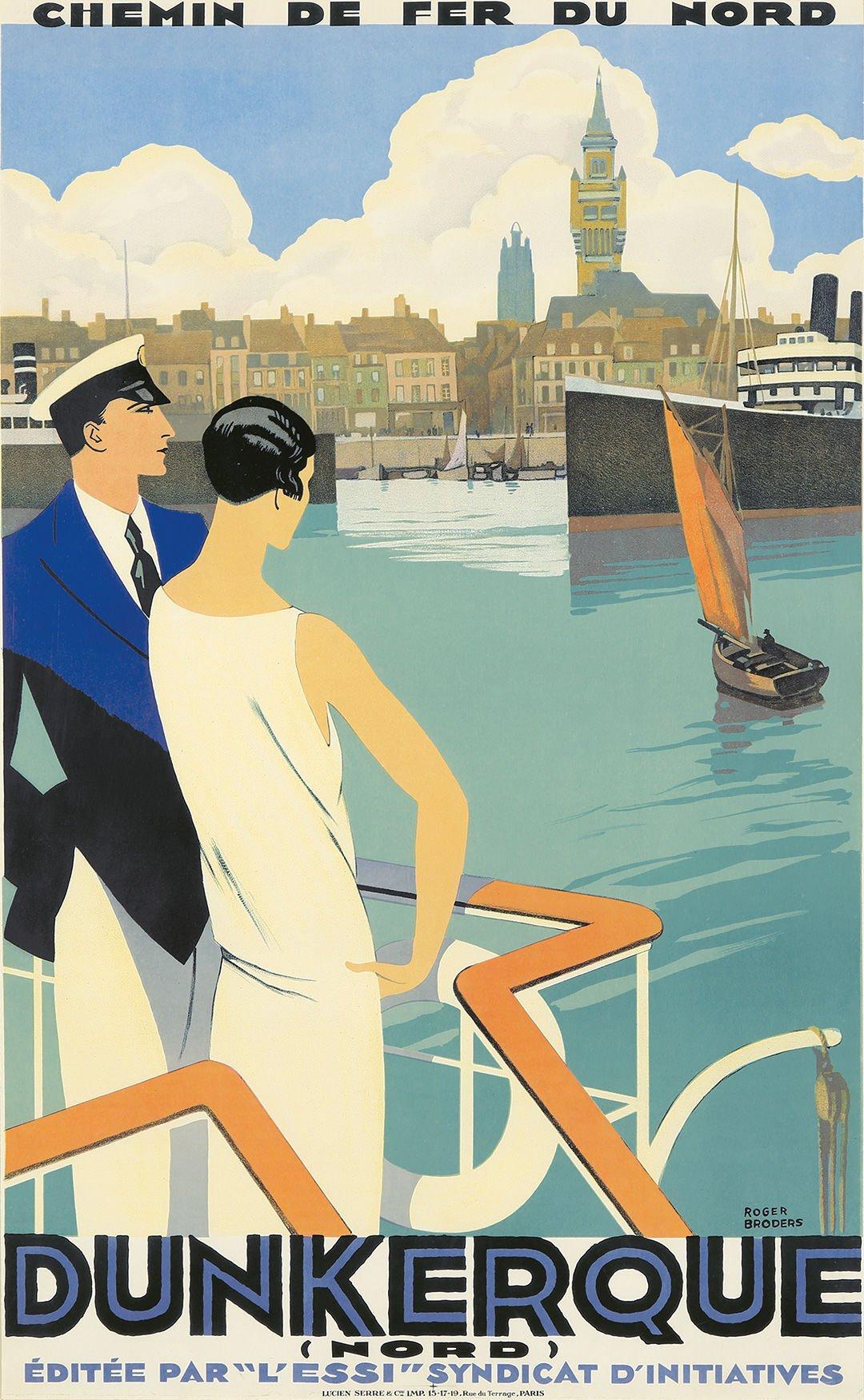 Roger Broders, Dunkerque. 1929.
