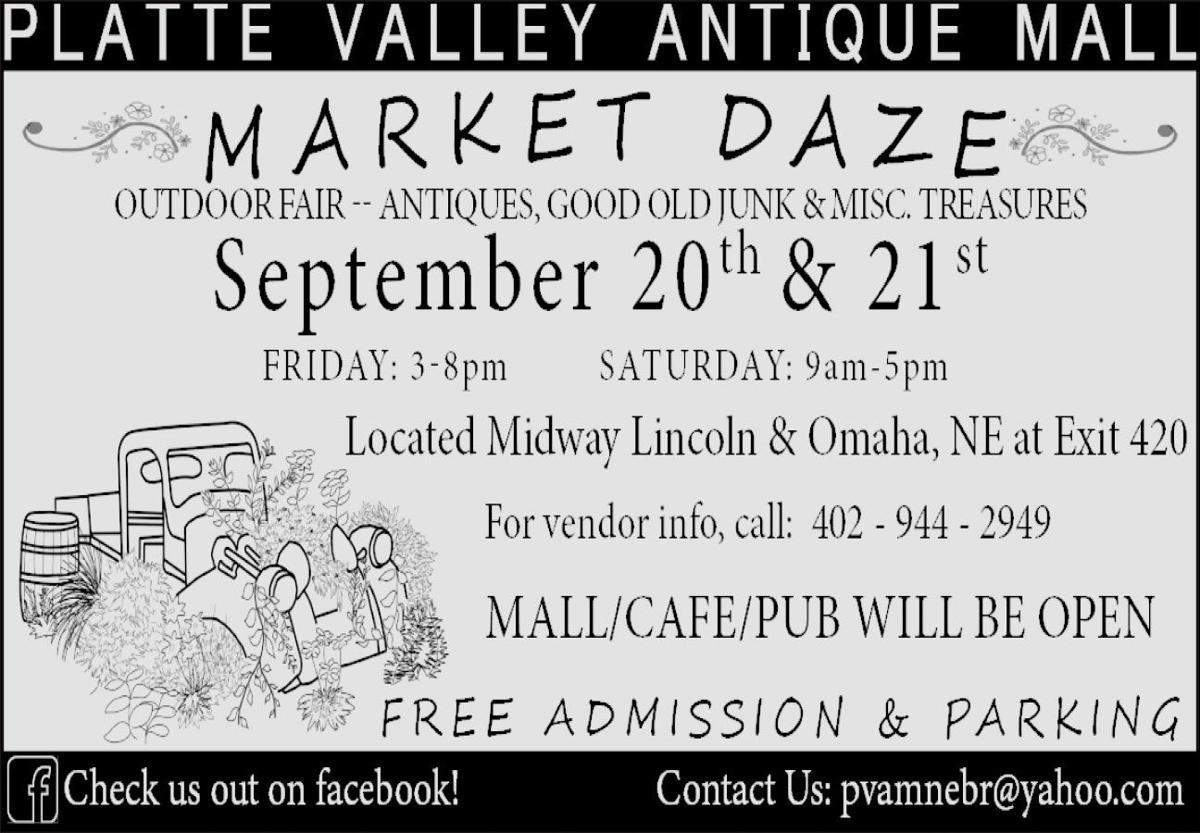 Platte Valley Antique Mall. Market Daze