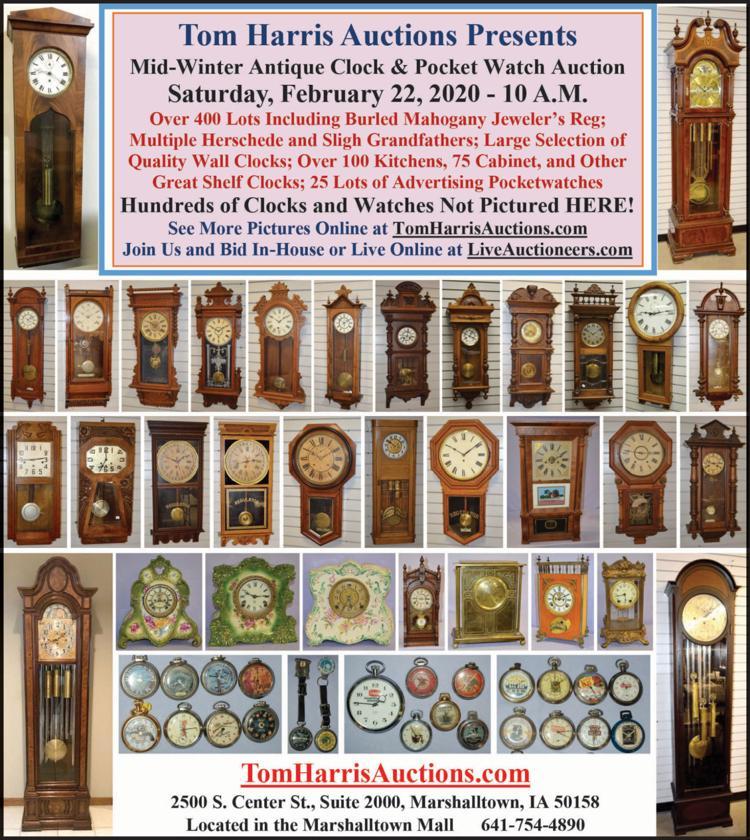 Antique clocks, pocket watches, antiques