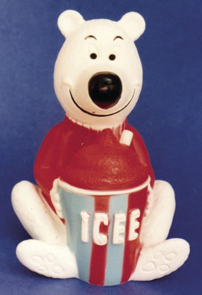 'ICEE Bear' would be fun to find