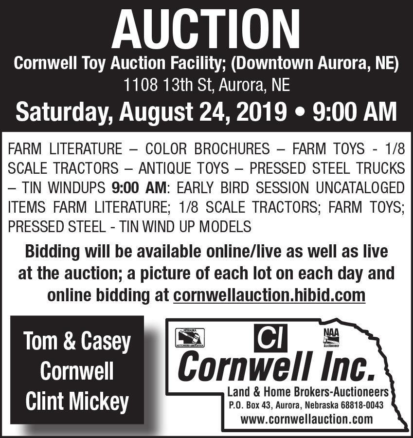 Farm literature, color brochures, toys, scale tractors