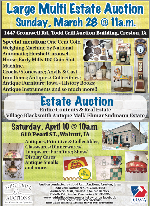 Todd Crill Auction