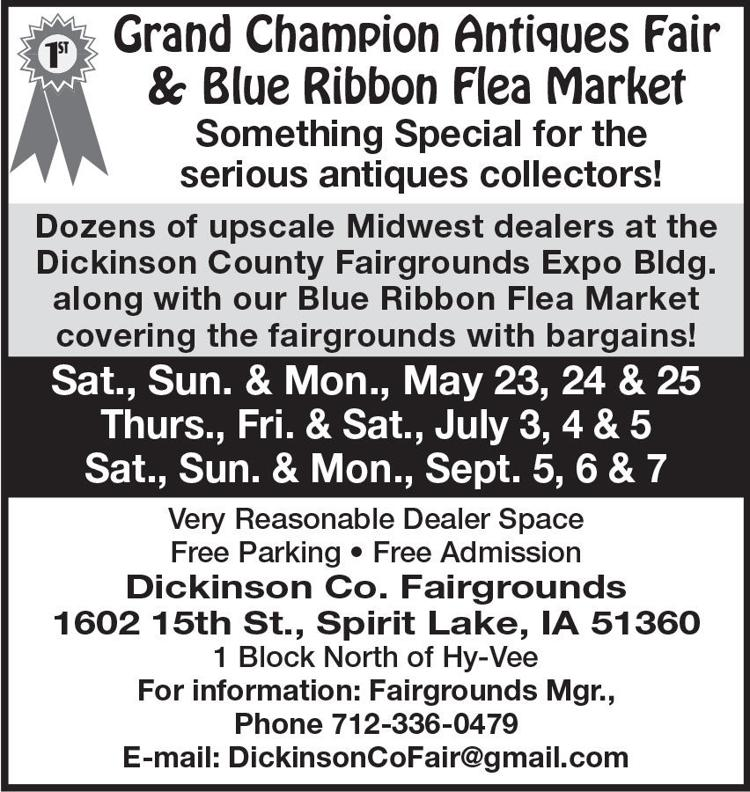 Grand Champion Antiques Fair & Blue Ribbon Flea Market