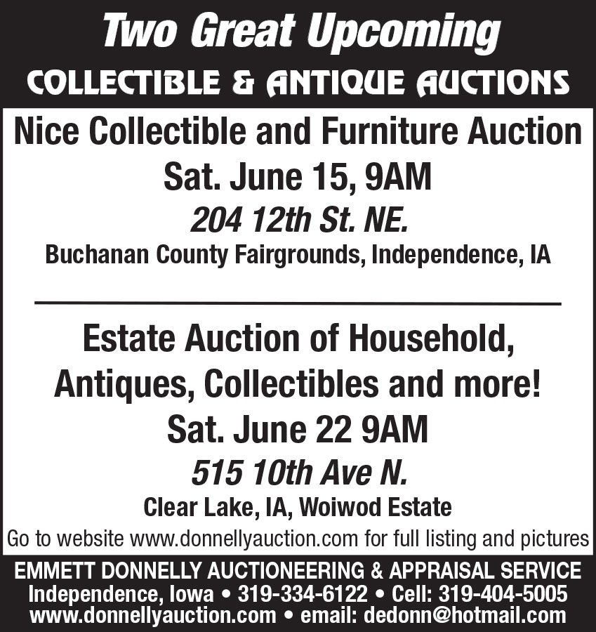 Collectible & Furniture Auction