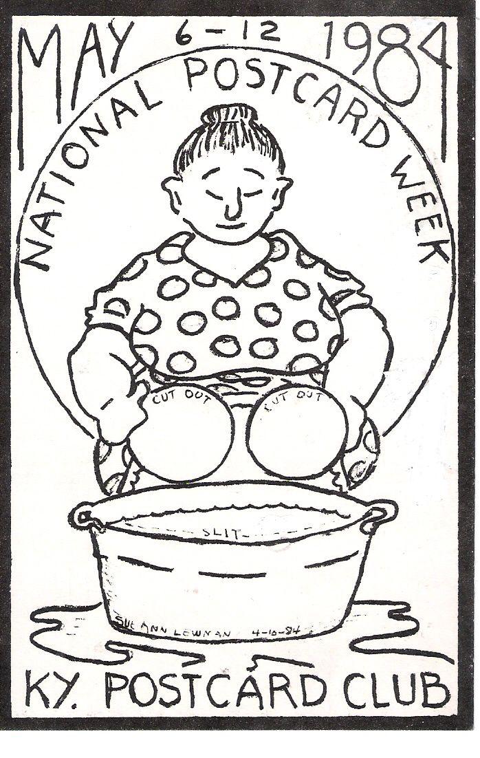 1984 National Postcard Week
