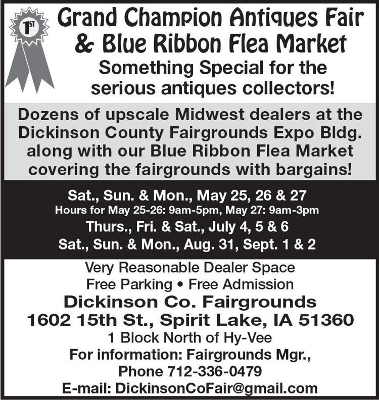 Grand Champion Antiques Fair & Blue Ribbon Flea Market