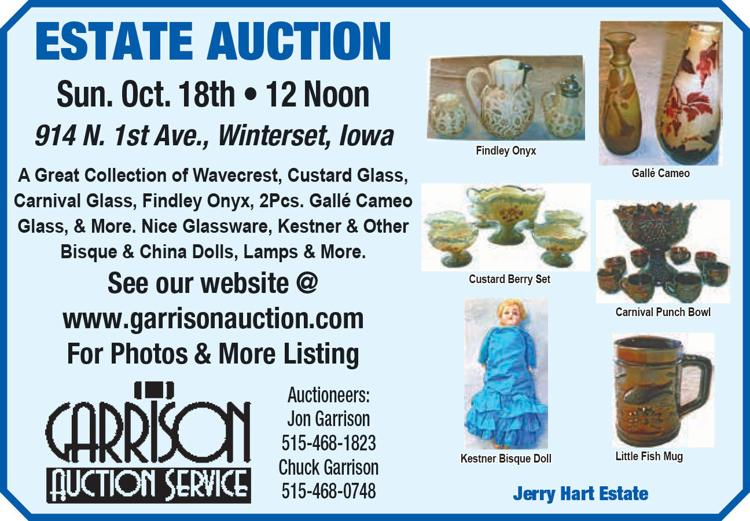 A great collection of Wavecrest, Custard Glass Carnival Glass, Bisque & China Dolls, Lamps and more