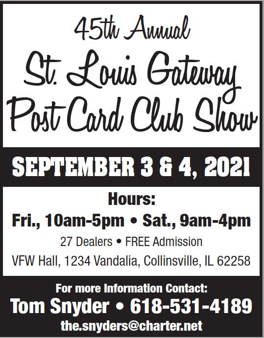 St. Louis Gateway Postcard Show