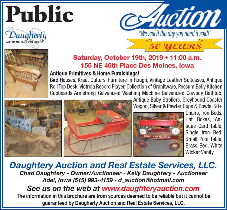 Antique primitives and home furnishings