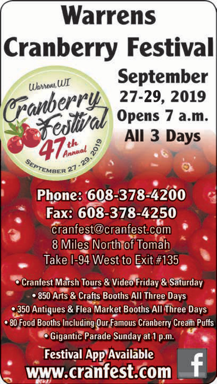 Warren's Cranberry Festival