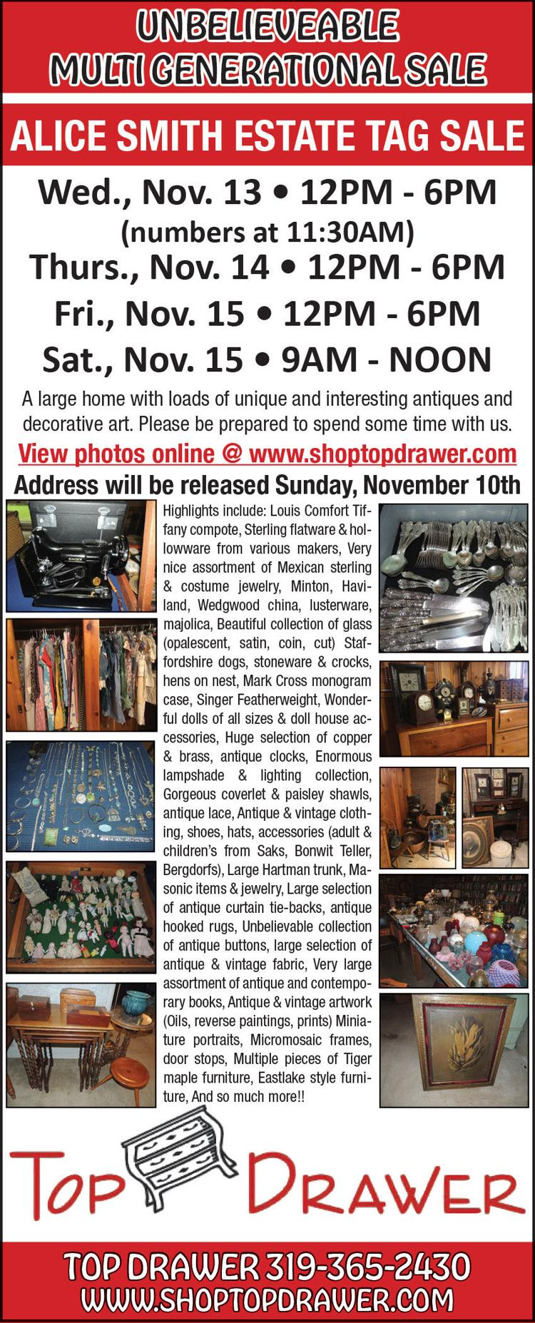 Sterling flatware, costume jewelry, stoneware, crocks, artwork