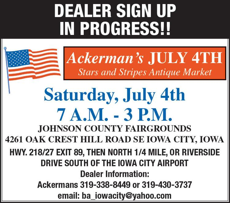 Ackerman's July 4th Stars & Stripes Antique Market