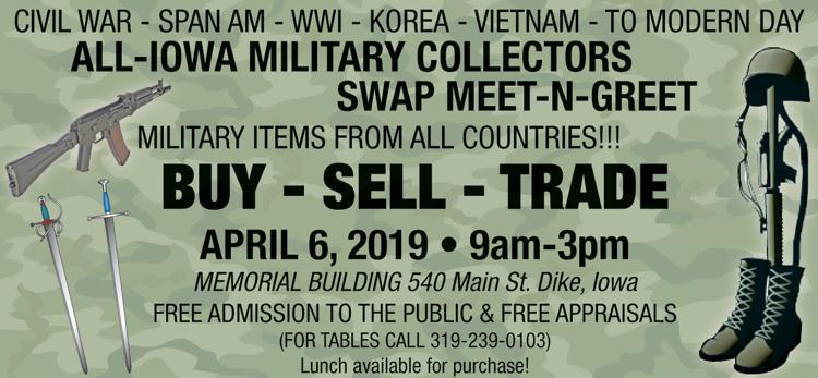 All Iowa Military Collectors Swap Meet-N-Greet | Auctions