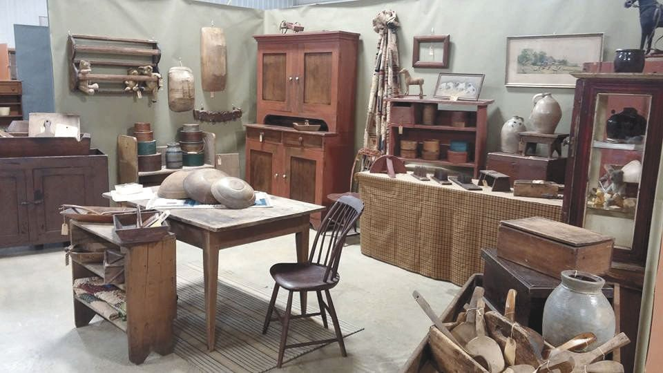 Five Linked Antiques Shows Highlight Early March In Amish Country, Illinois