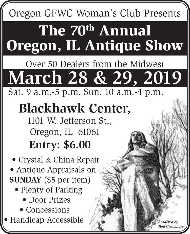 The 70th Annual Oregon, IL Antique Show