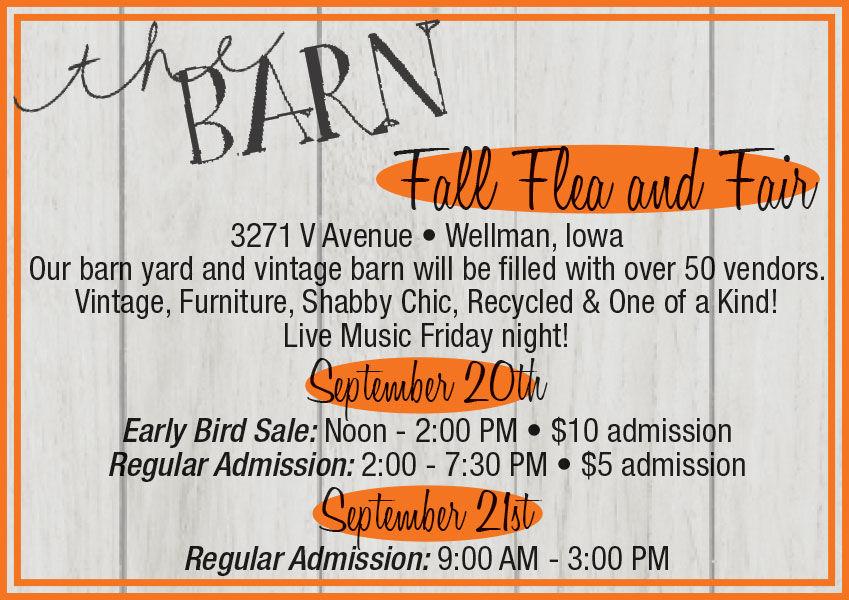the Barn, Fall Flea & Fair