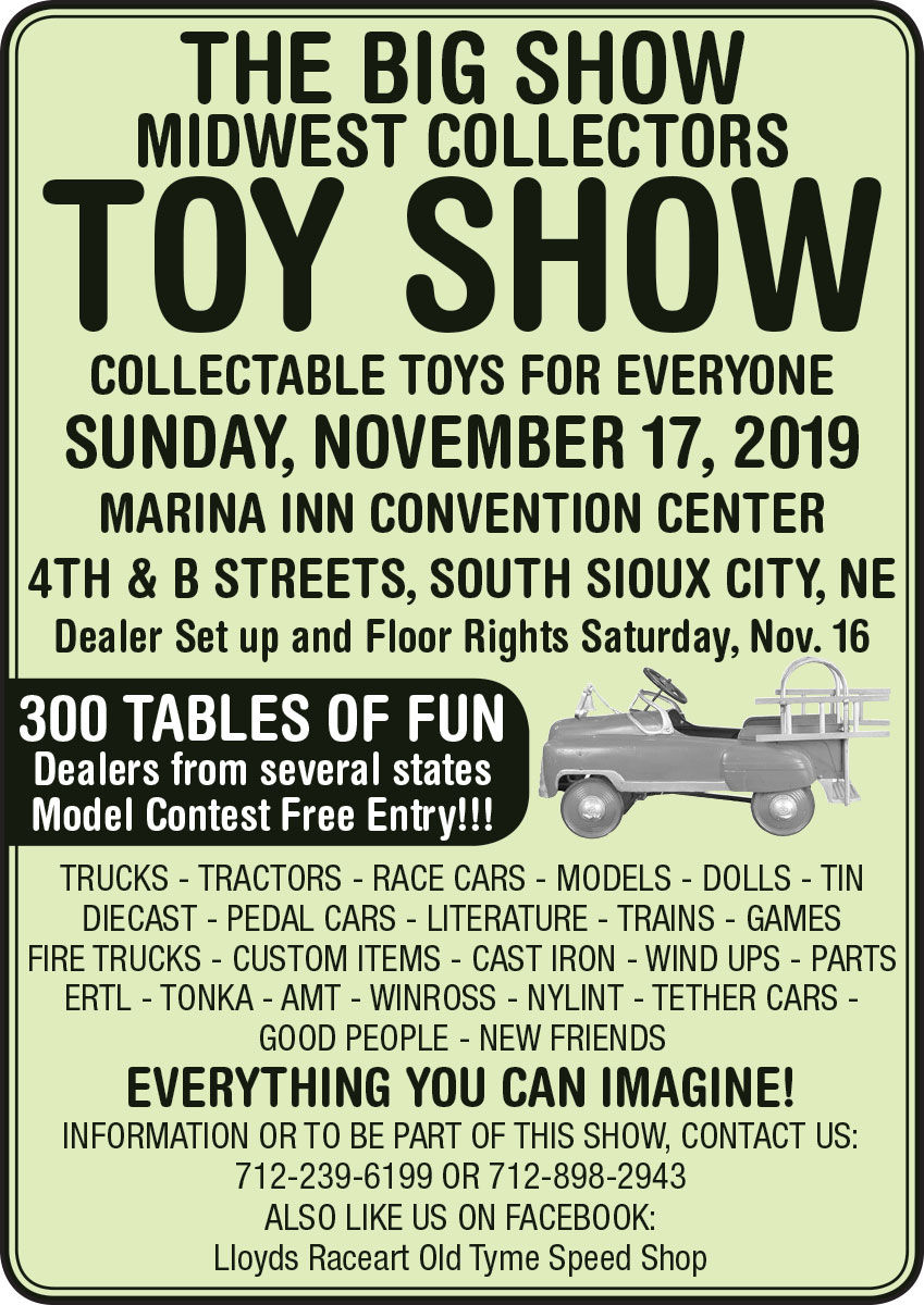 The Big Show Midwest Collectors Toy Show