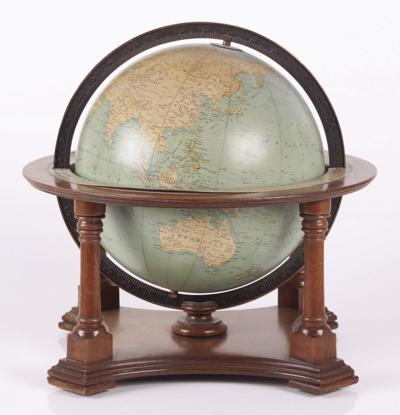 Maps and globes bring us the world!