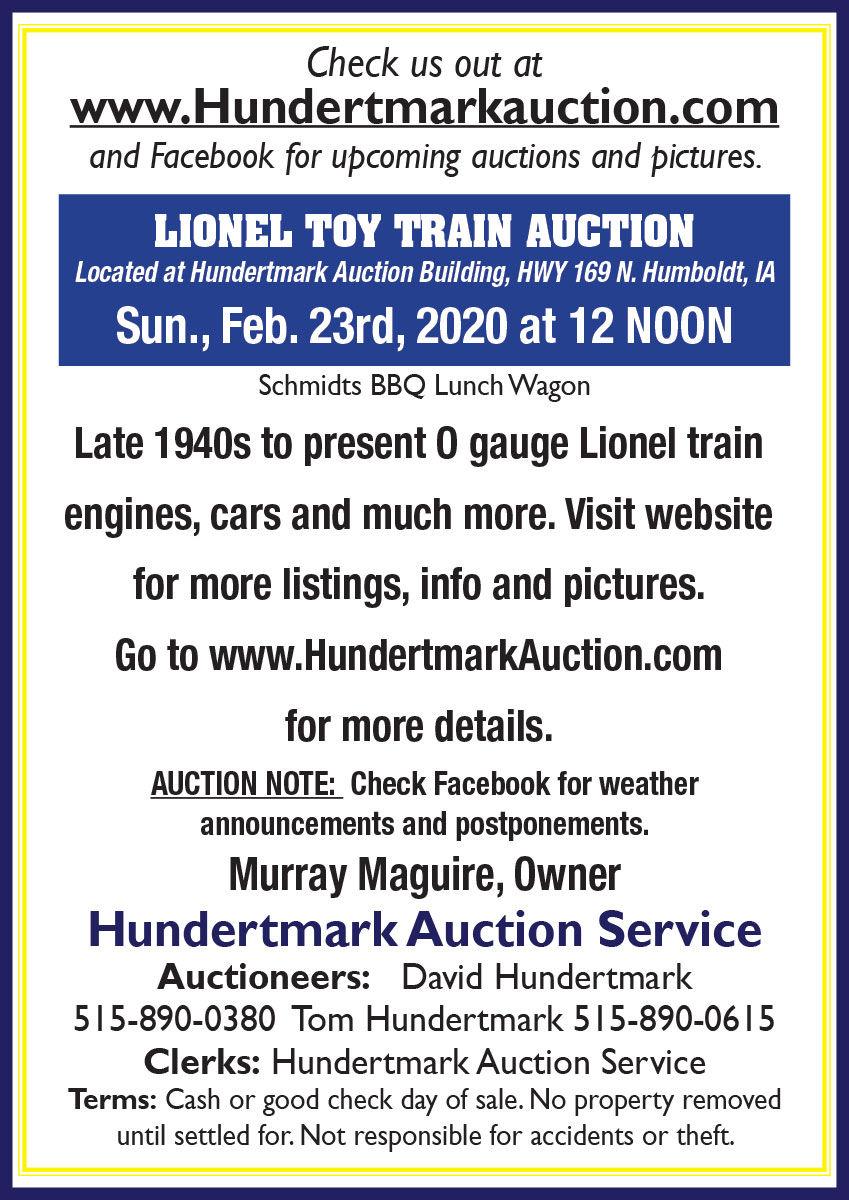 Lionel Train engines, cars