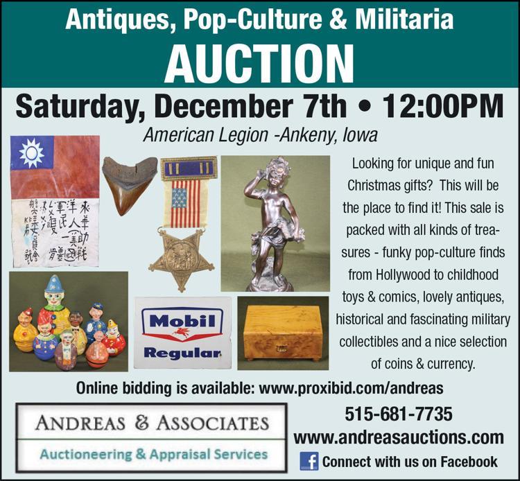 Funky pop-culture, comics, antiques, military collectibles