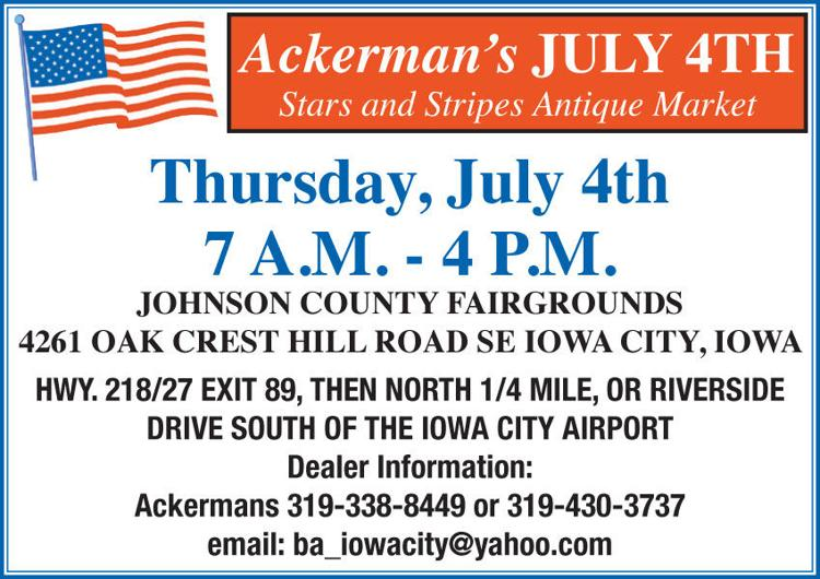 Ackerman S July 4th Stars Stripes Antique Market