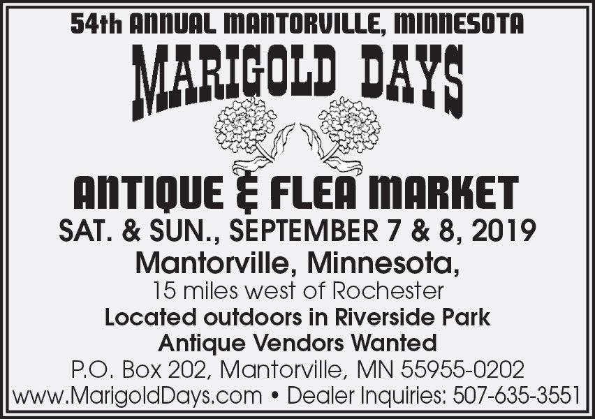 54th Annual Mantorville Minnesota. Marigold Days