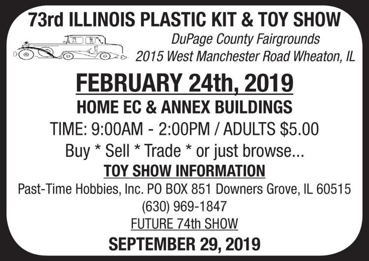 73rd Illinois Plastic Kit & Toy Show | Auctions, Markets