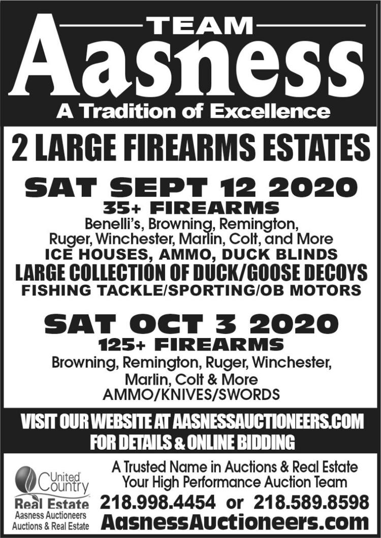 125 Firearms, Ammo, Knives and Swords