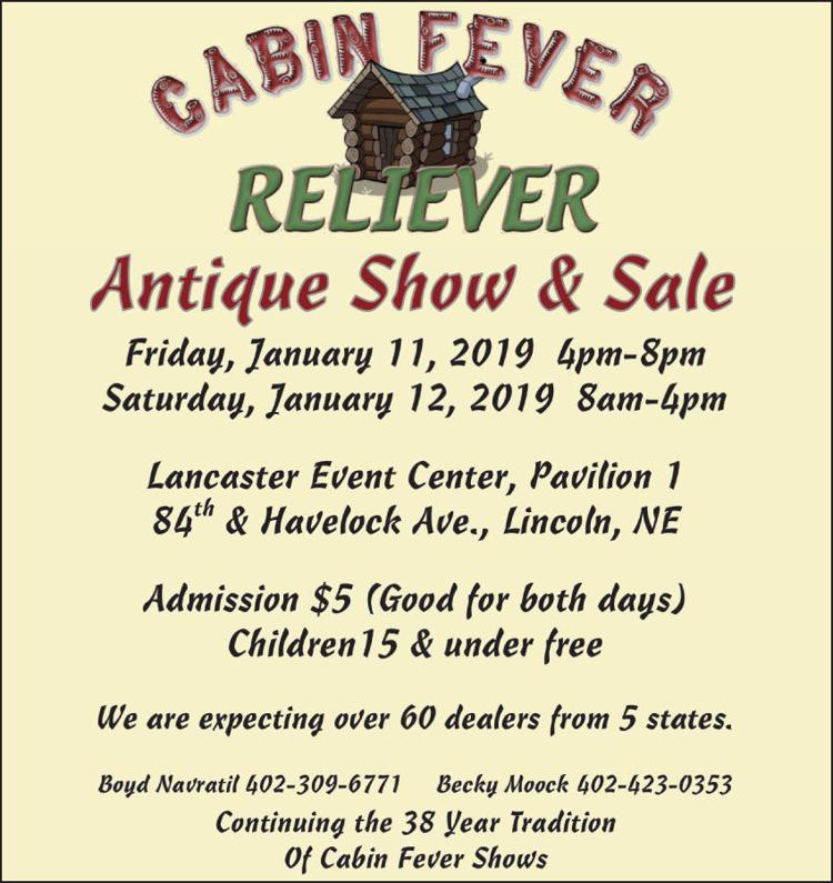 Cabin Fever Reliever Antique Show & Sale