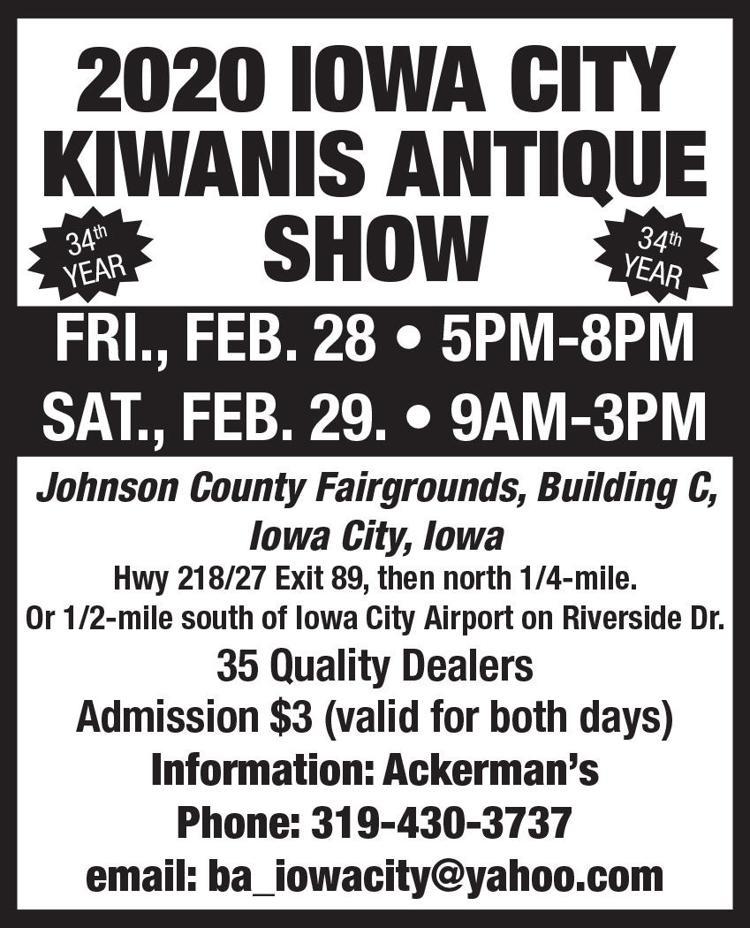 34th Annual Kiwanis Club Antique Show