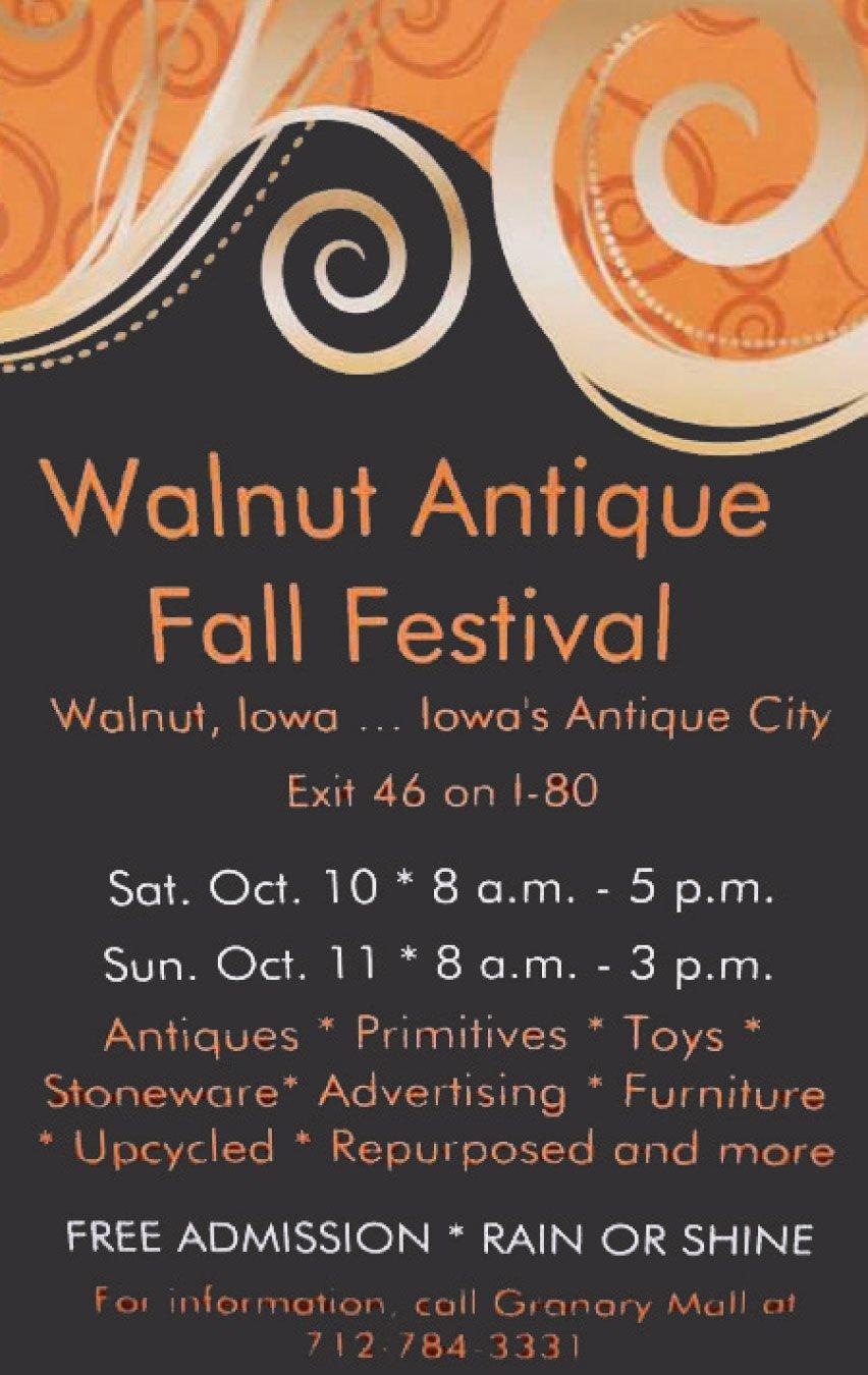 Walnut Antique Fall Festival