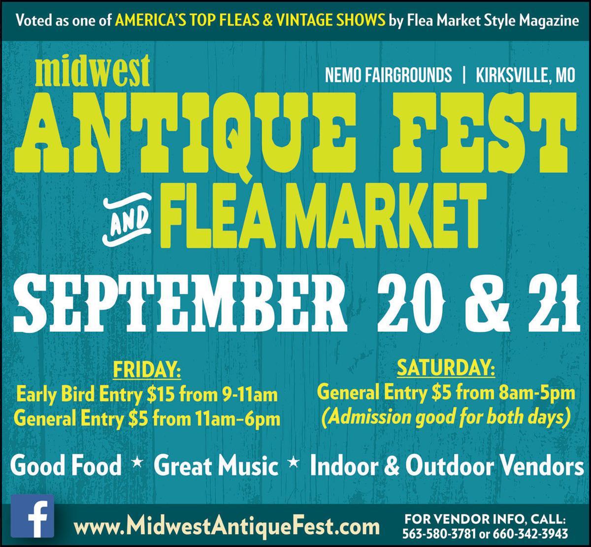 Midwest Antique Fest and Flea Market