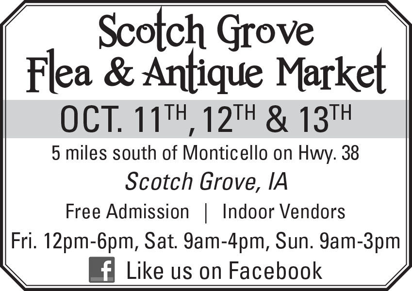 Scotch Grove Flea & Antique Market