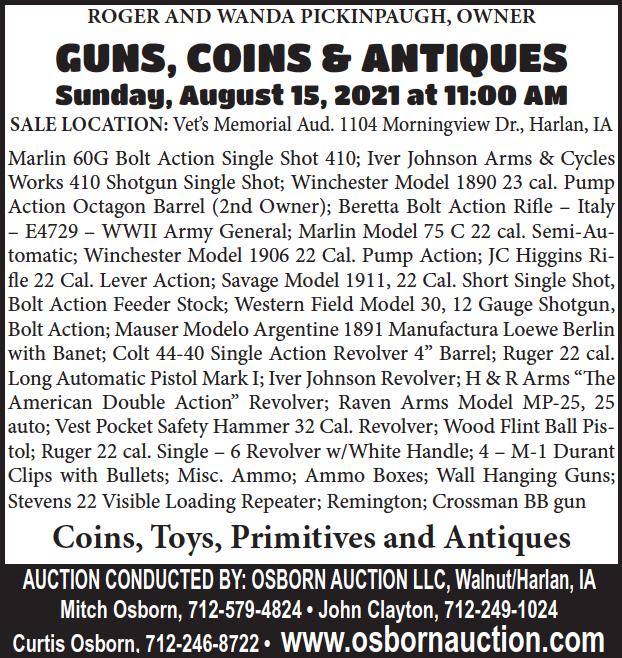 Osborn auction